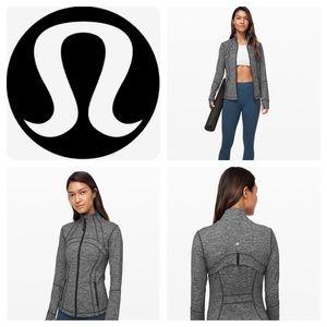 NWT Lululemon Define Jacket Heathered Black Size 4